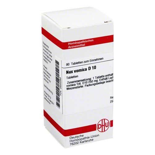 DHU Nux vomica D 10 Tabletten - 1