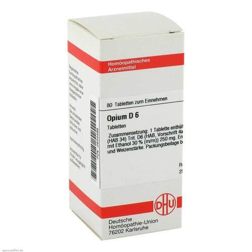 DHU Opium D 6 Tabletten - 1