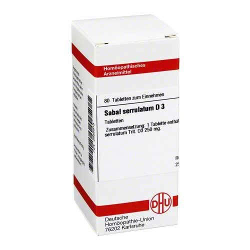 Sabal serrulata D 3 Tabletten - 1