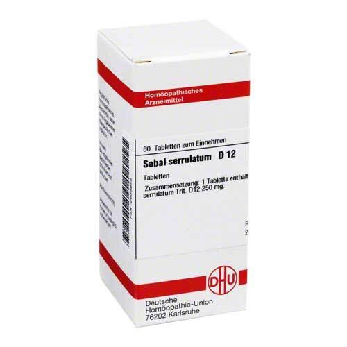 Sabal serrulata D 12 Tabletten - 1