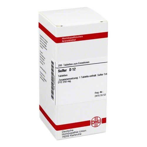 DHU Sulfur D 12 Tabletten - 1