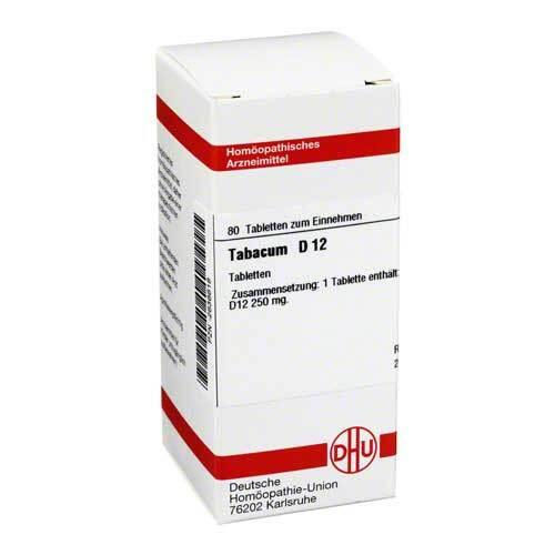 Tabacum D 12 Tabletten - 1