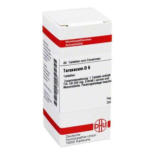Taraxacum D 6 Tabletten - 1