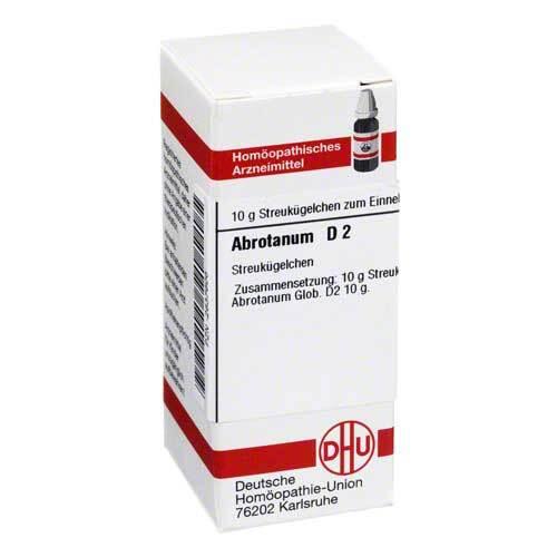 DHU Abrotanum D 2 Globuli - 1
