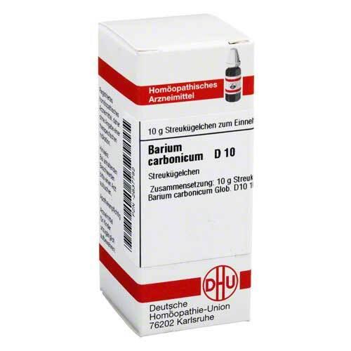 Barium carbonicum D 10 Globuli - 1