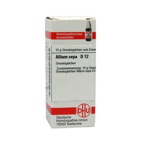 DHU Allium cepa D 12 Globuli - 1