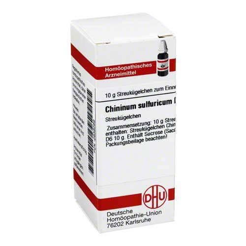 DHU Chininum sulfuricum D 6 Globuli - 1