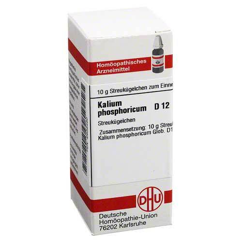 DHU Kalium phosphoricum D 12 Globuli - 1