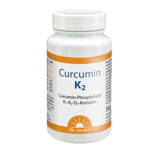 Curcumin K2 Dr. Jacob`s Kapseln - 1