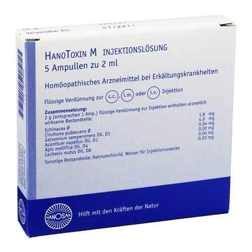Hanotoxin M Injektionslösung - 1