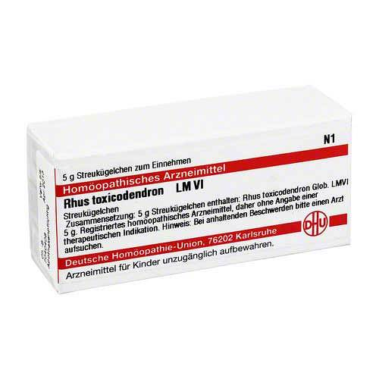 DHU LM Rhus toxicodendron VI Globuli - 1
