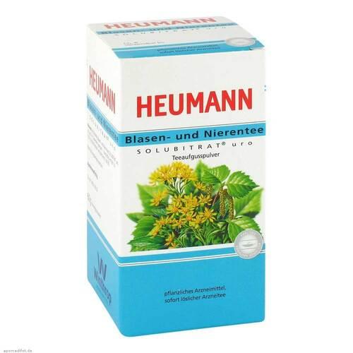 Heumann Blasen + Nieren Solubitrat uro Teeaufgusspulver - 1