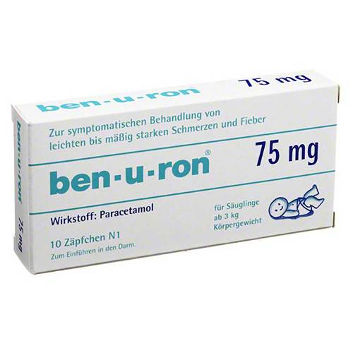 Ben-U-Ron 75 mg Suppositorien - 1