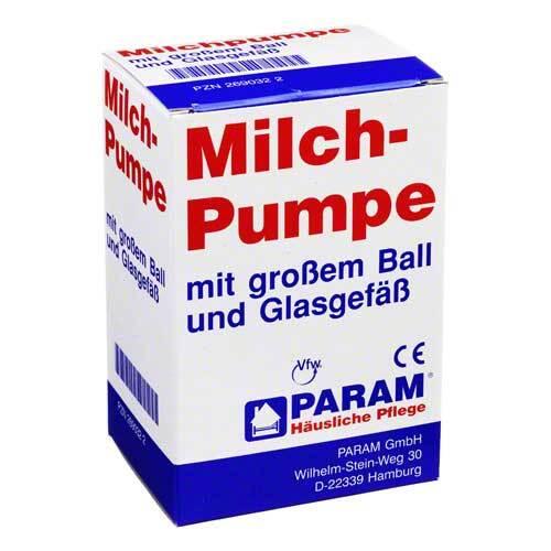 Milchpumpe Glas + großer Ball - 1