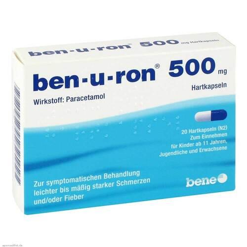 Ben-U-Ron 500 mg Kapseln - 1