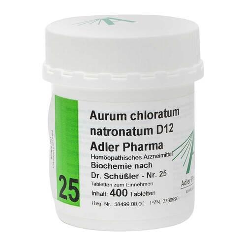 Biochemie Adler 25 Aurum chloratum Natrium D12 Tabletten - 1