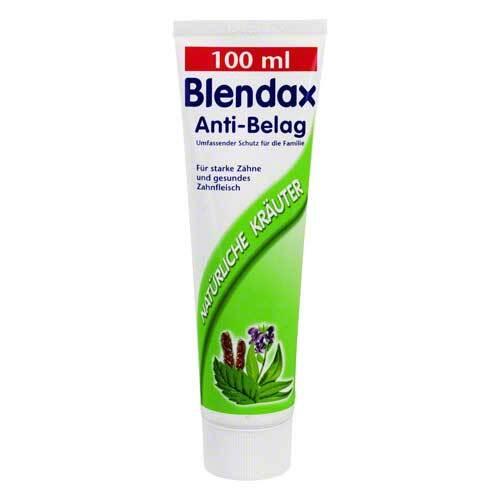 Blendax Anti Belag Kräuter Zahncreme - 1
