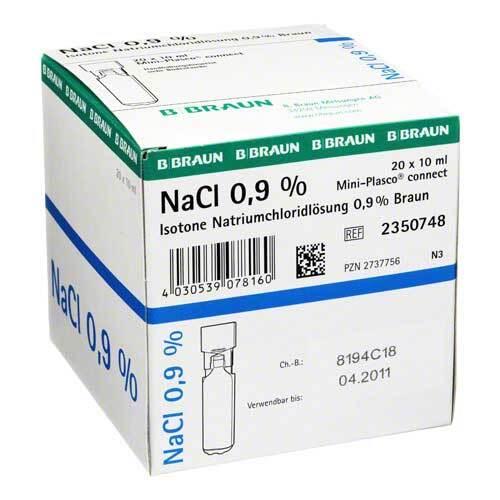 PZN 02737756 Injektionslösung, 20X10 ml
