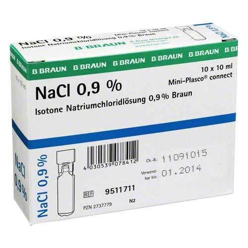 PZN 02737779 Injektionslösung, 10X10 ml