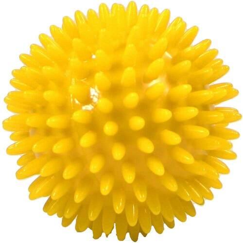 Massageball Igelball 8 cm gelb - 1