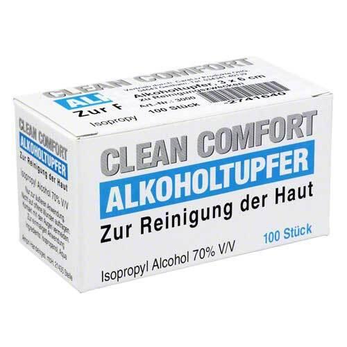 Alkoholtupfer 3x6cm steril - 1