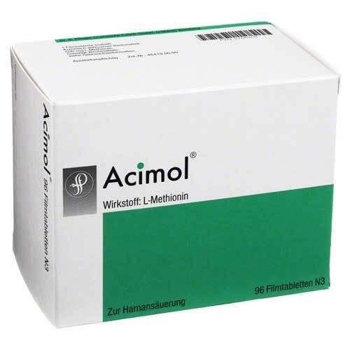 Acimol mit pH Teststreifen Filmtabletten - 1