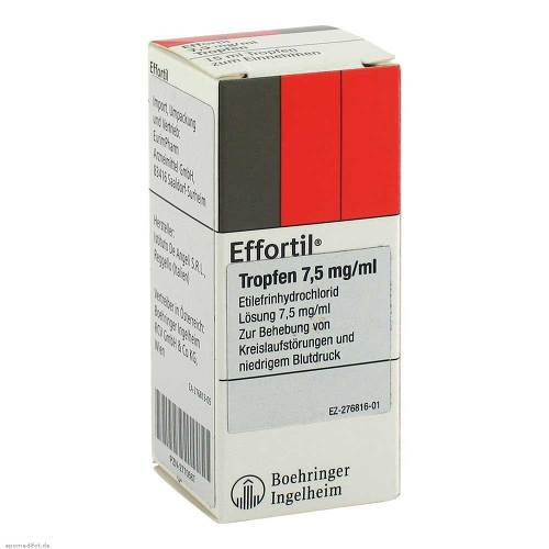Effortil Tropfen 7,5 mg/ml - 1