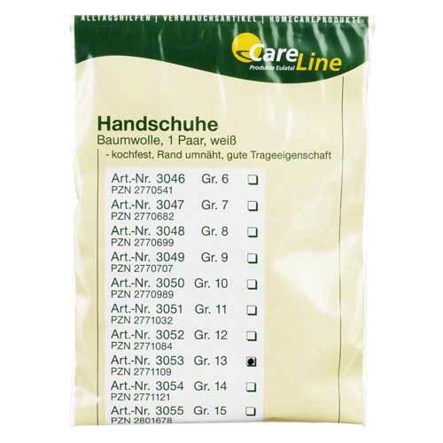 Handschuhe Baumwolle Größe 13 - 1