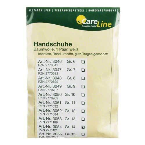 Handschuhe Baumwolle Größe 14 - 1