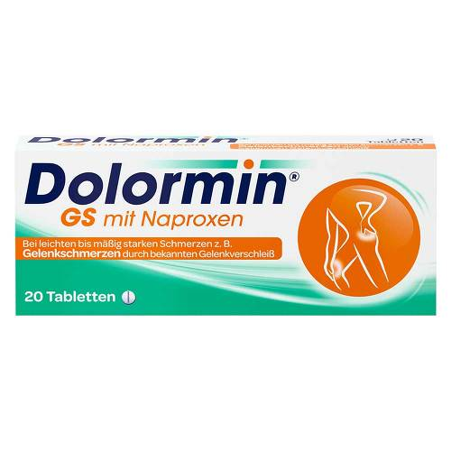 Dolormin GS mit Naproxen Tabletten - 1