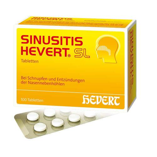 Sinusitis Hevert SL Tabletten - 1