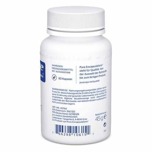 Pure Encapsulations Astaxanthin Kapseln - 2