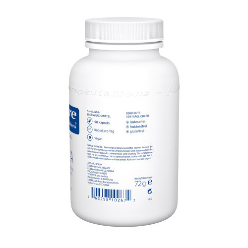 Pure Encapsulations BCAA Verzweigtkettige AS Kapseln - 2