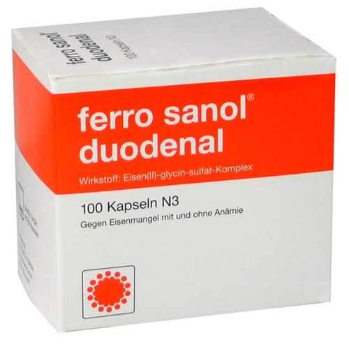 Ferro Sanol duodenal Hartkapseln mit magensaftresistent überzogene Pell. - 1