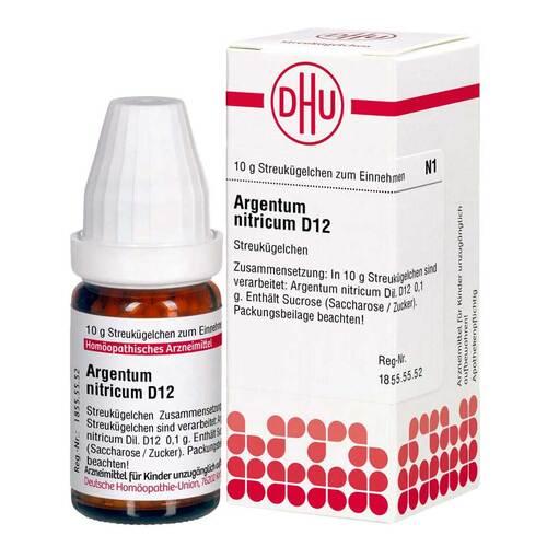 Argentum nitricum D 12 Globuli - 1