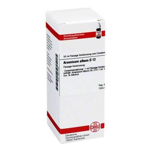 Arsenicum album D 12 Dilution - 1