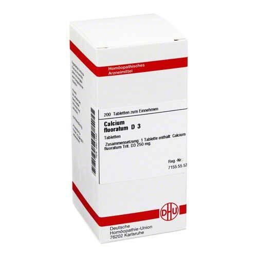 DHU Calcium fluoratum D 3 Tabletten - 1