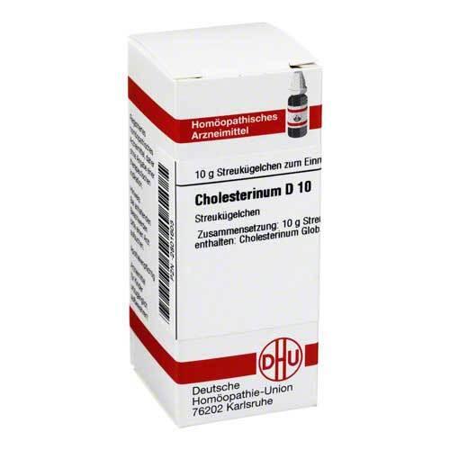 Cholesterinum D 10 Globuli - 1