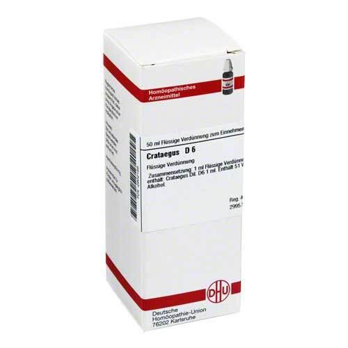 DHU Crataegus D 6 Dilution - 1