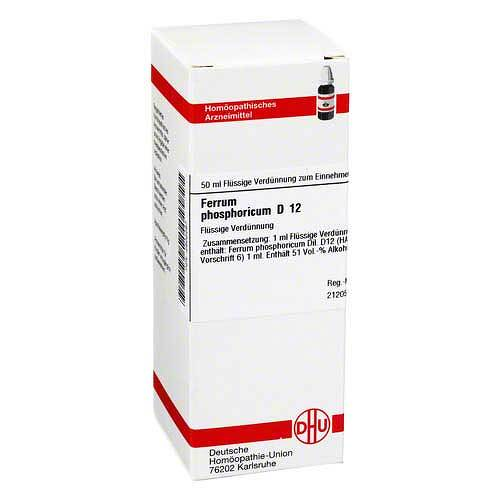 DHU Ferrum phosphoricum D 12 Dilution - 1