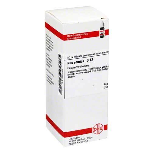 DHU Nux vomica D 12 Dilution - 1