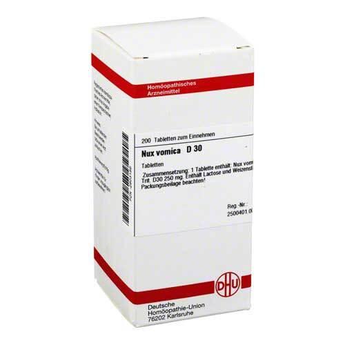 DHU Nux vomica D 30 Tabletten - 1