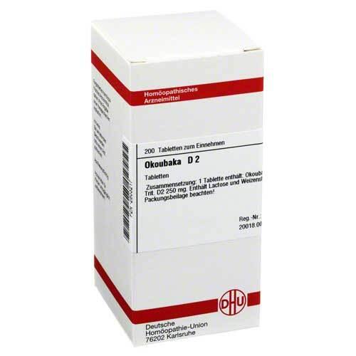 DHU Okoubaka D 2 Tabletten - 1