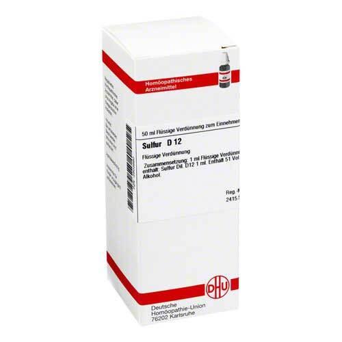 DHU Sulfur D 12 Dilution - 1