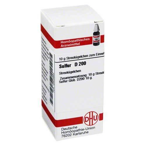 DHU Sulfur D 200 Globuli - 1
