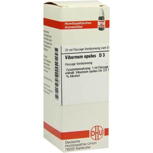 Viburnum opulus D 3 Dilution - 1