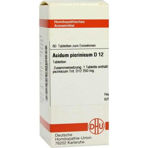 Acidum picrinicum D 12 Tabletten - 1