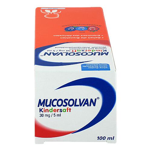 Mucosolvan Kinder Hustensaft 30 mg/5 ml bei verschleimten Husten - 4