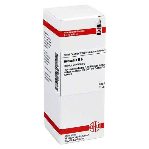 Aesculus D 6 Dilution - 1