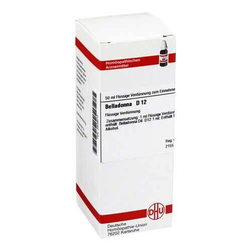 DHU Belladonna D 12 Dilution - 1